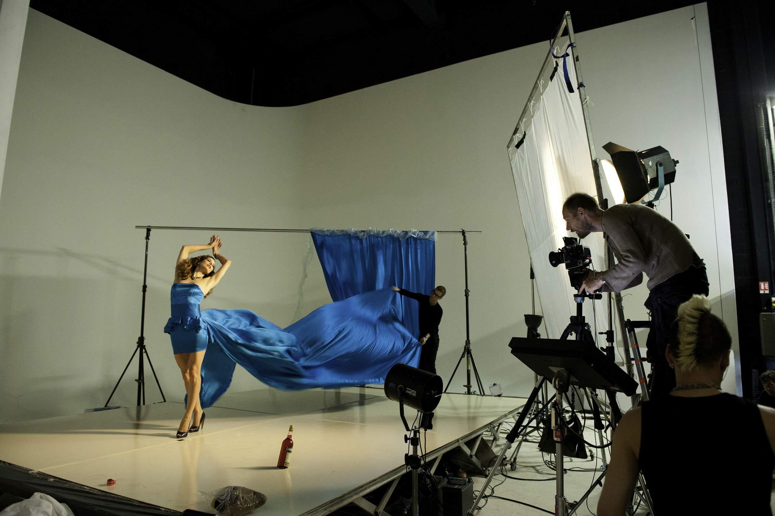 Рабочие моменты съемок, Рабочие моменты съемок промо-ролика программы 8 фотография